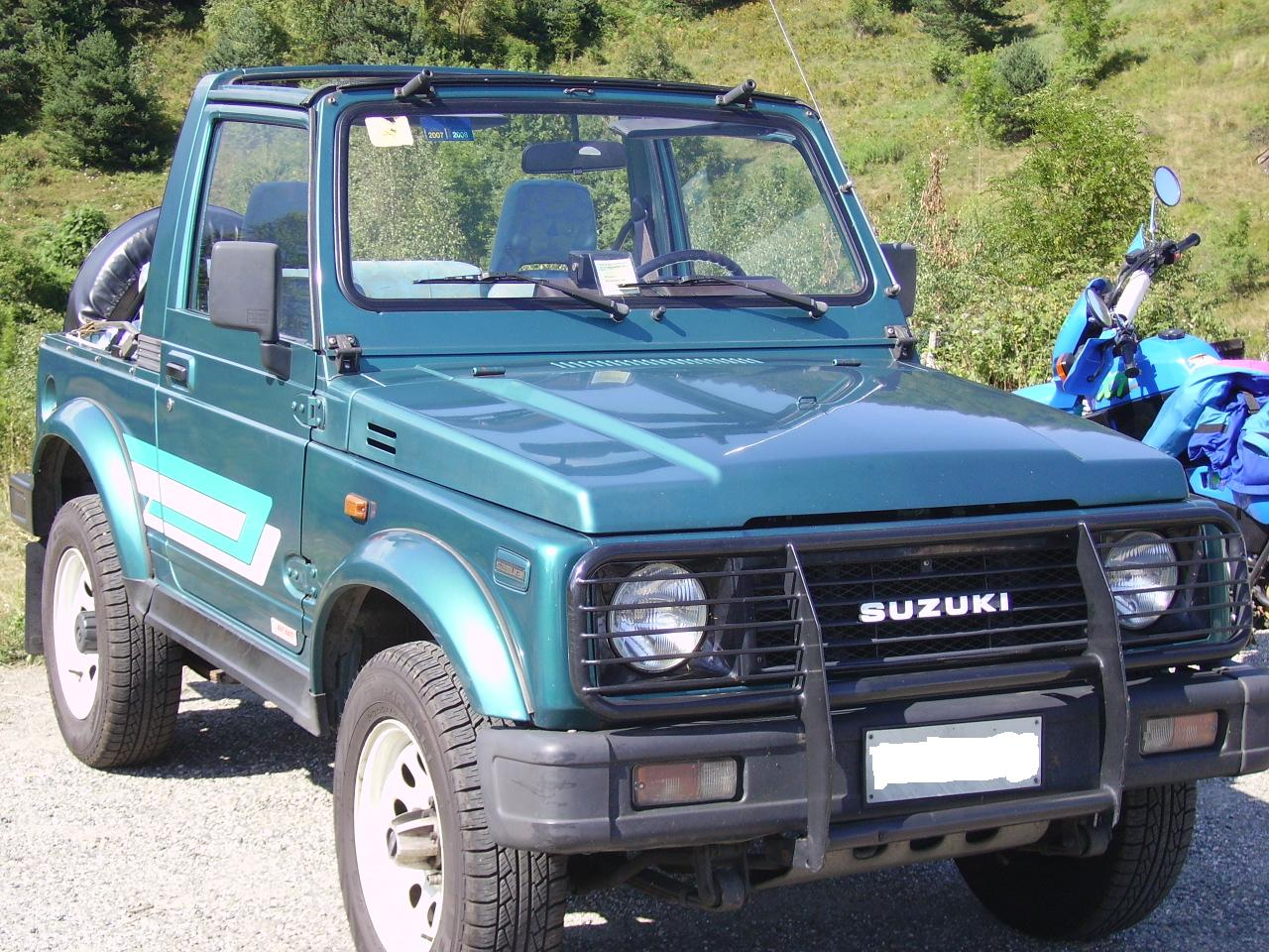 Suzuki samurai rubato a torino for Samurai torino